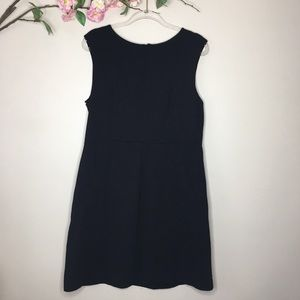 Cynthia Rowley black zip up sleeveless dress sz XL